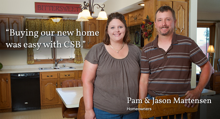 Take a look at CSB's home loans, personal lending and account options